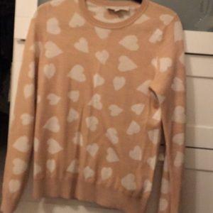 Loft Heart-print Sweater
